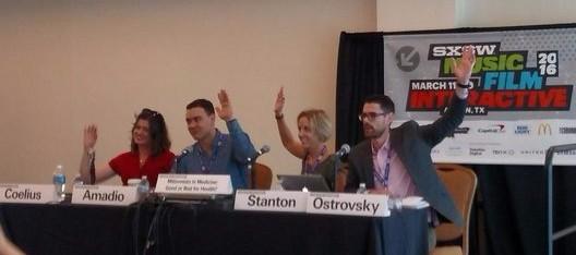 Healthcare Transformers panel at SXSW