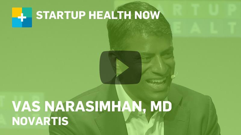 Vas Narasimhan @ StartUp Health Festival