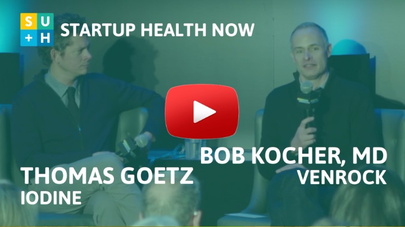 Bob Kocher & Thomas Goetz