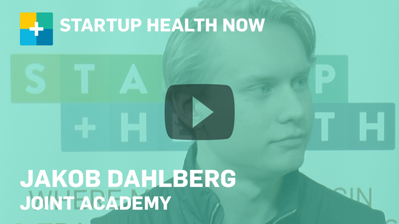 Jakob Dahlberg on StartUp Health NOW