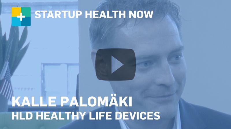 Kalle Palomäki on StartUp Health NOW