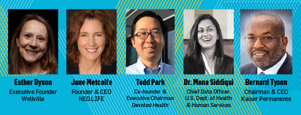 5 New Speakers to Showcase StartUp Health Stage