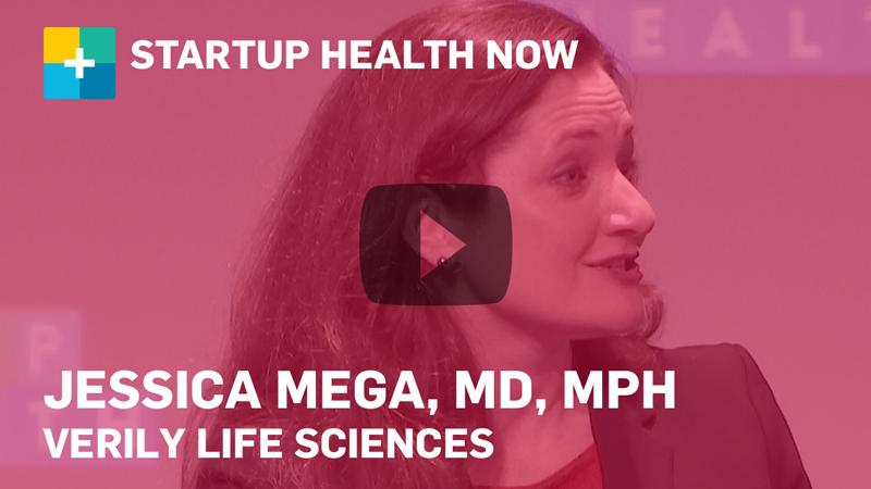 Dr. Jessica Mega on StartUp Health NOW