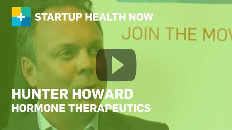 Hunter Howard, Hormone Therapeutics, on StartUp Health NOW