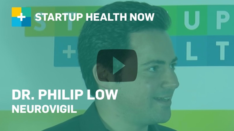 Dr. Philip Low, Neurovigil, on StartUp Health NOW