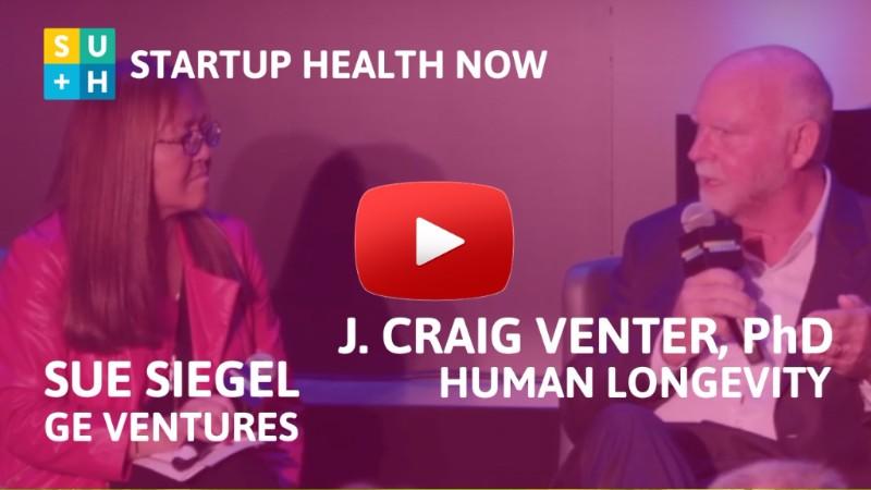 Dr. J. Craig Venter on StartUp Health NOW