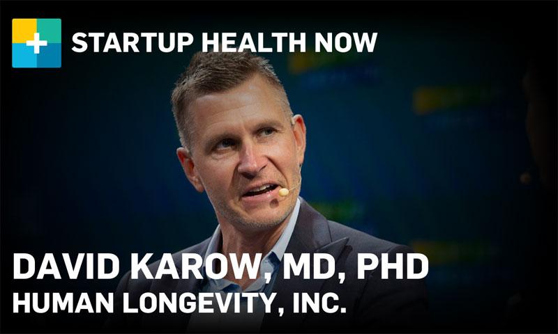 David Karow, MD, PhD, Human Longevity, Inc.