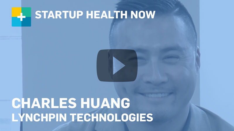Charles Huang on StartUp Health NOW