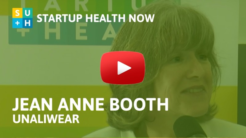 Jean Anne Booth, UnaliWear, on StartUp Health NOW