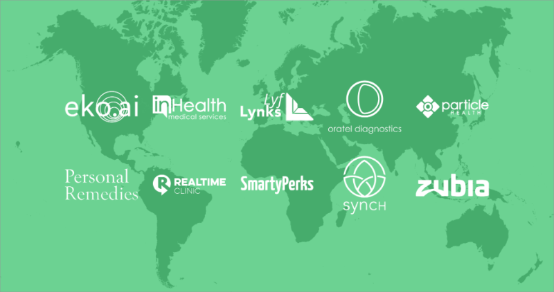 10 New Companies in StartUp Health Moonshot Academy
