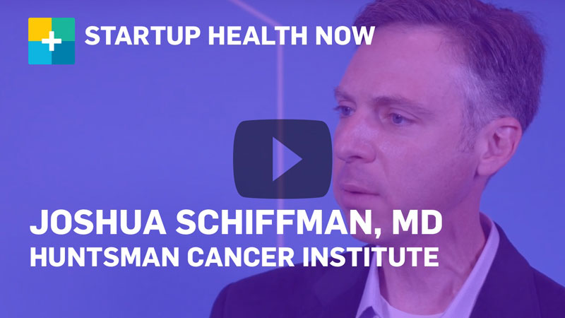 Dr. Schiffman on StartUp Health NOW