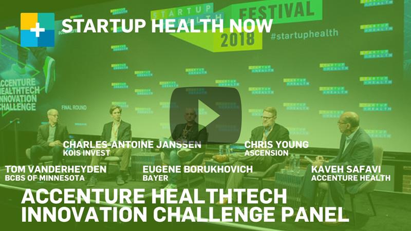 Accenture @ StartUp Health Festival