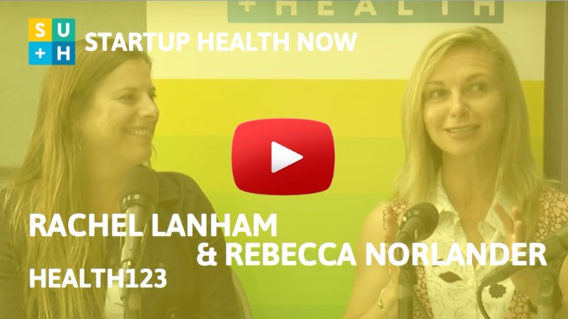 Health123 on StartUp Health NOW!