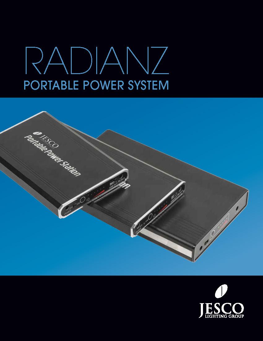 JESCO Radianz Battery Pack Catalog