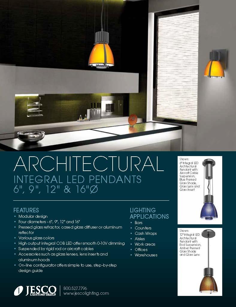 JESCO's Architectural LED Pendant