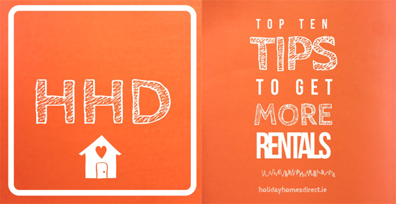 HHD Top Ten Tips for Holiday Home Owners How to get more rentals on your vacation property