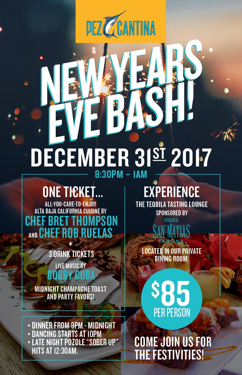 New Year's Eve Bash at Pez Cantina! - Pez Cantina 2017-12-12 01:25