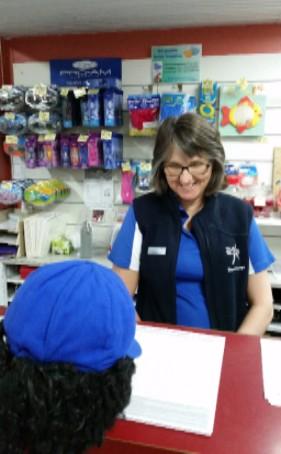 Dickie Knee visits Healthways