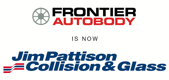Frontier Autobody Is Now Jim Pattison Collision & Glass