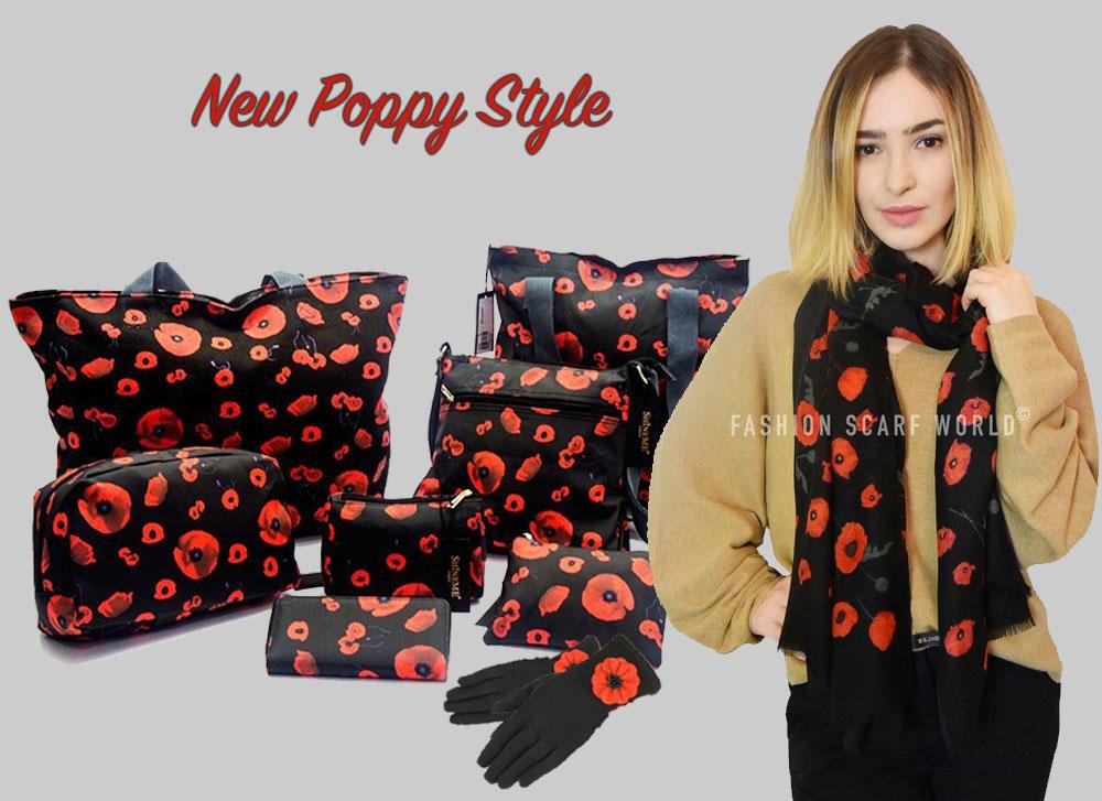 poppy scarves wholesale 2019