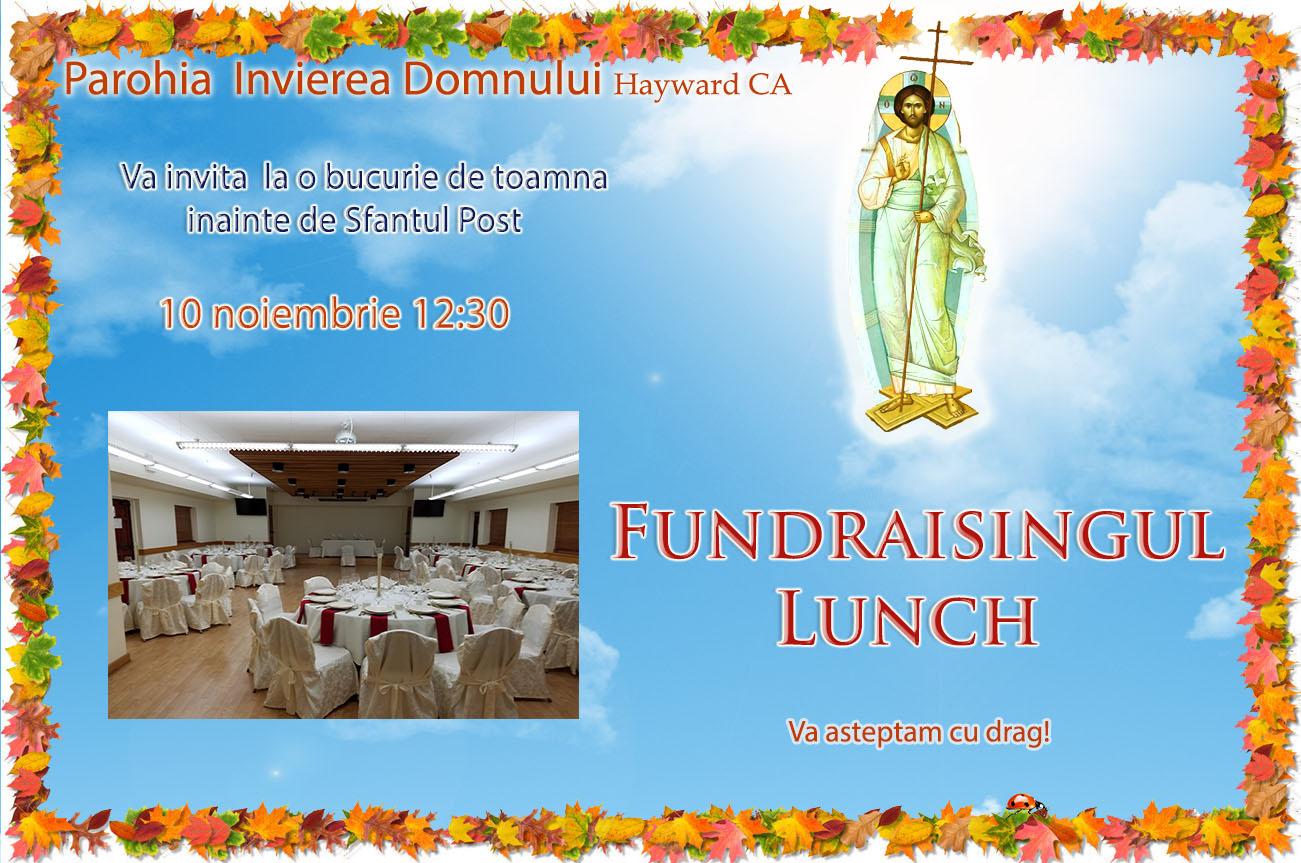 Fundraising 13 nov.