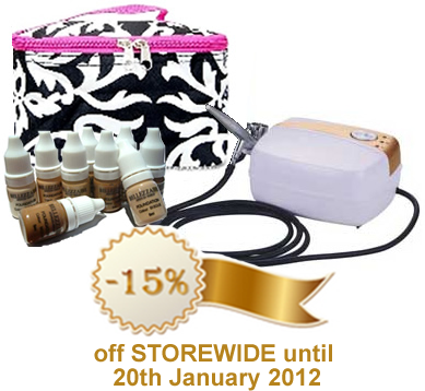 Airbrush Makeup Special - 15% off Storewide