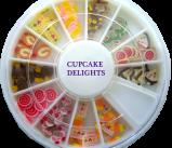 polymer Cupcake Nail Art