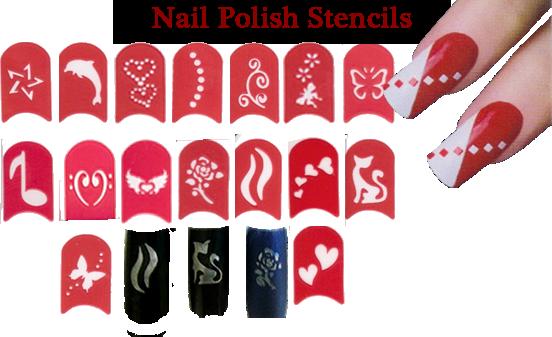 Nail Polish Stencils