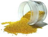 Micro Beads for Nail Art - Gold