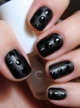 Matte Polish and dots