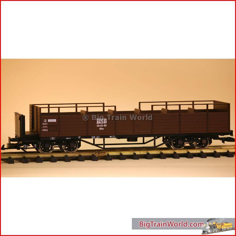 Train Line45 3046000 - HSB Schienencabrio 99-03-90/HSB cabrio 99-03-90