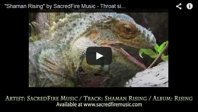 Shaman Rising Video from SacredFire Music