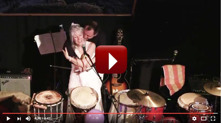 Watch video musical excerpts of Dean & MJ's wedding