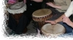 Community Drum Circle in Squamish