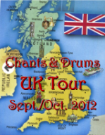 Chants and Drums 2012 UK Tour