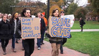 "Graduate Students Plan Nationwide Walkouts Against GOP ""Assault"" On Post-Secondary Education"