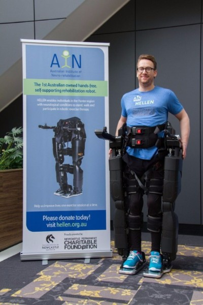 HELLEN (Hunter's Exoskeleton for Lower Limb Exercise and Rehabilitation)