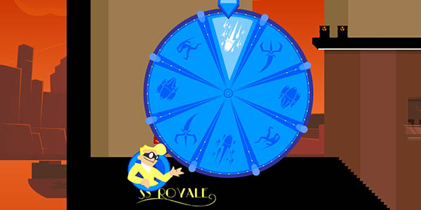Wheel of Fortune in SpeedRunners