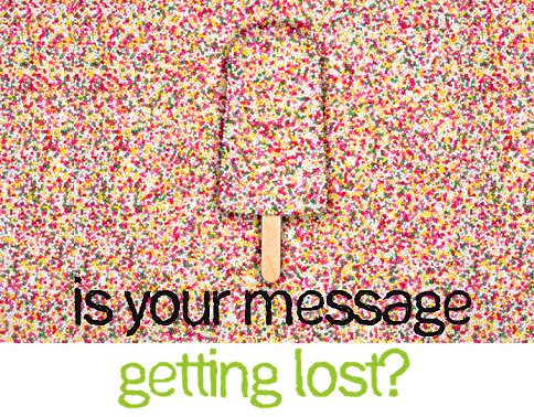 is your message getting lost?