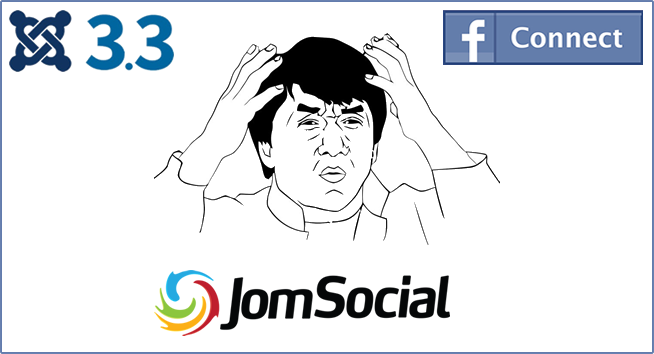 Joomla, JomSocial, Facebook connect