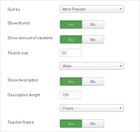 Guru courses module - backend