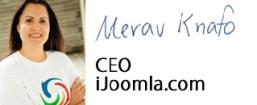 Merav Knafo, CEO, iJoomla.com