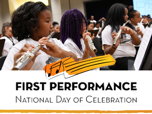 First Performance National Day of Celebration Concert