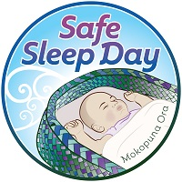 Safe Sleep Day Logo