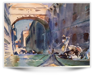 Sargent-The Bridge of Sighs-about 1903-4 Brooklyn Museum