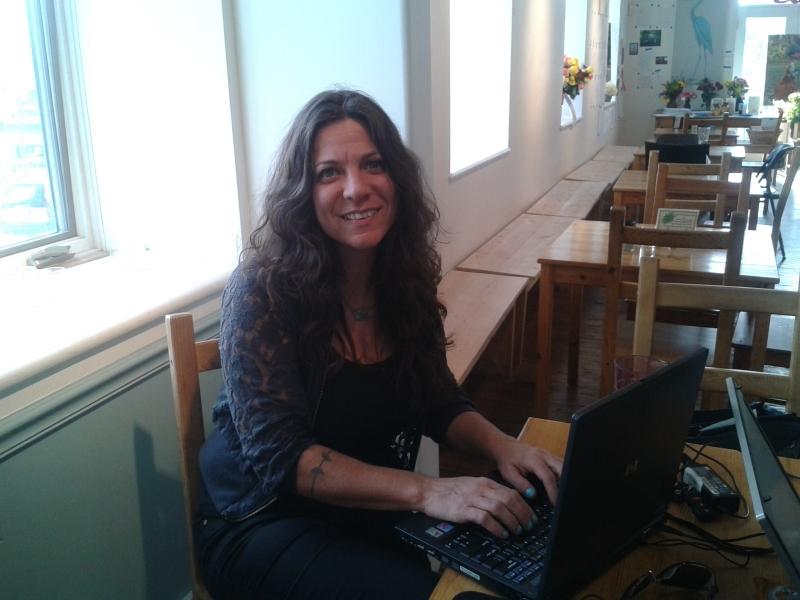 Image: SPI Volunteer Jennifer.