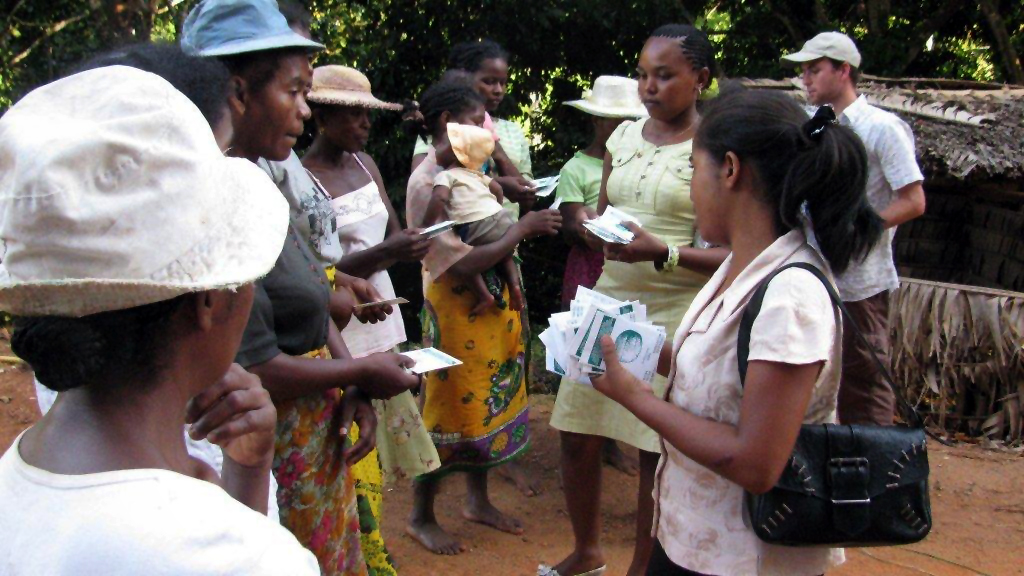 Image: Peace Corps Sharing Seeds.