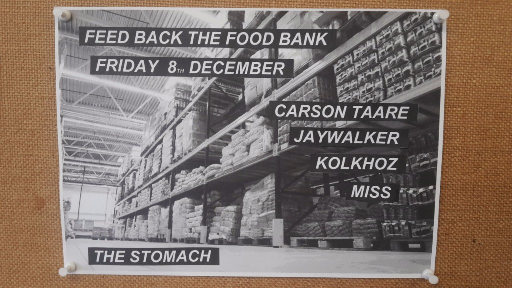 Feed Back The Food Bank - 8th Dec