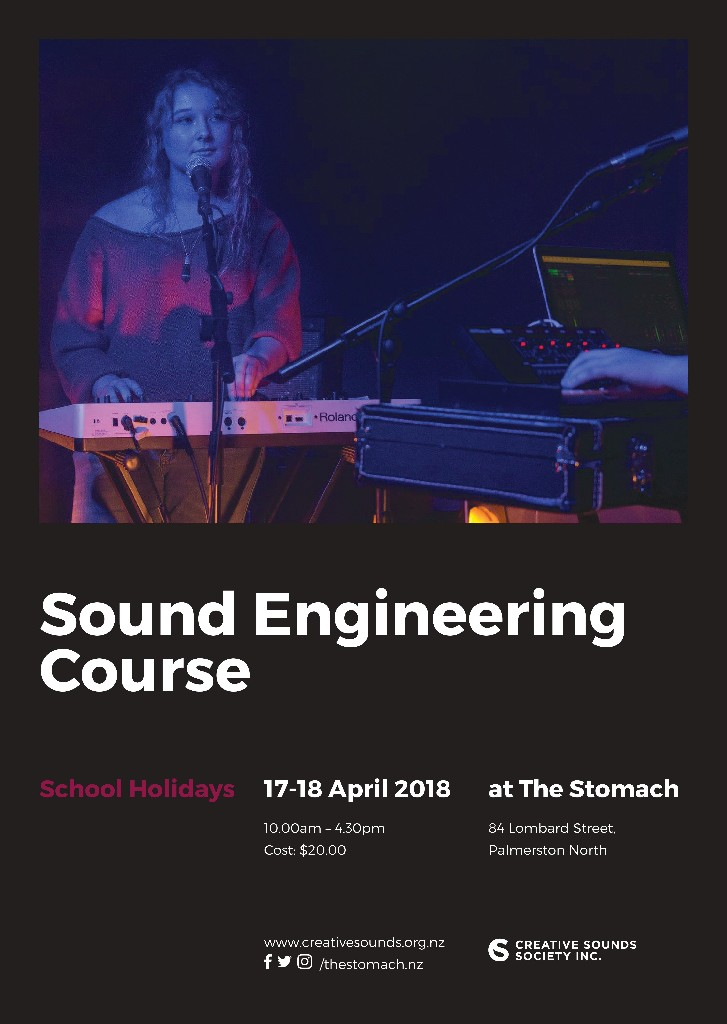 Sound Engineering Course - Secondary School Students