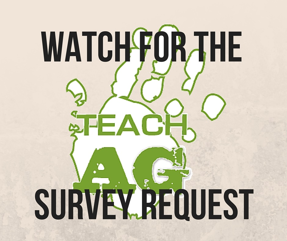 Teach Ag Survey Request